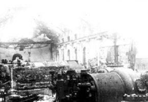 Germans blow up the working Power Plant